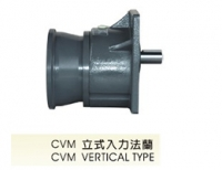 CVM立式入力法兰减速机